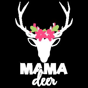 Mama Reh T-shirt Rehe Hirsch Geschenk