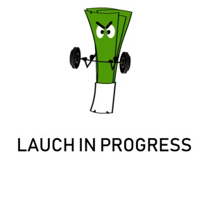 Lauch in Progress T-Shirt Design