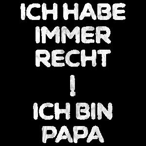 PAPA RECHTHABERISCH VATERTAG VÄTERCHEN
