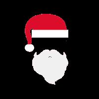 Hippster Weihnachtsmann