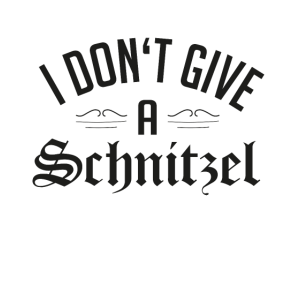 I don't give a Schnitzel | Oktoberfest T-Shirt
