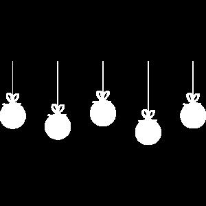 Weihnachtskugeln - Christmas Motiv