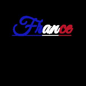 France Nationalitaet Geschenkidee Shirt