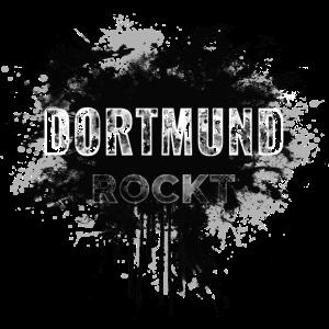 DORTMUND ROCKT IN DIRTY BLACK