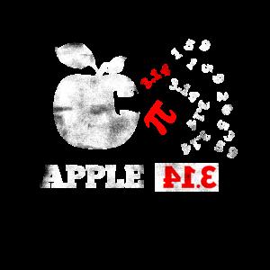 Apfel Pi Pie Pun Mathe Nerd Algebra Pi Tag