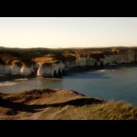 Die Klippen am Meer