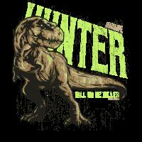 T Rex Jäger, Tyrannosaurus Dinosaurier T-Rex