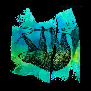 Faultier sloth sloths faultiere faultier T Shirt