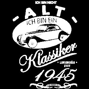 Oldtimer Auto Schrauben 1945 Geburtstag Geburtst