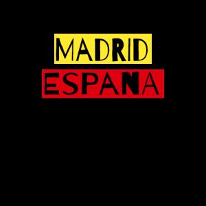 Madrid Spanien Madrid Fan T Shirt