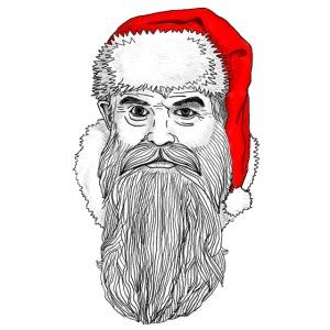 Weihnachtsmann mit roter Mütze