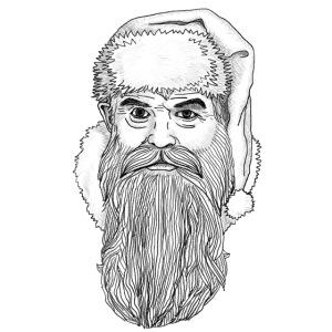 Weihnachtsmann (für farbige Outfits)