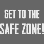 "PUBG ""Get to the safe zone!"""