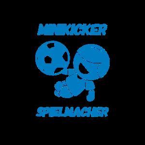 Minikicker Spielmacher blau Fußball minikicker