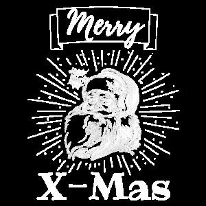 Weihnachten Merry X-mas Weihnachtsmann Geschenk