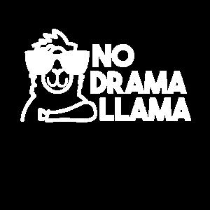 Cooles No Drama Lama Alpaka Geschenk