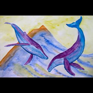 Buckelwale und Pico