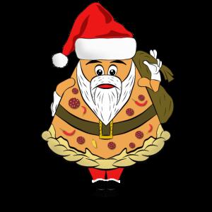 Lustiger Pizza Nikolaus