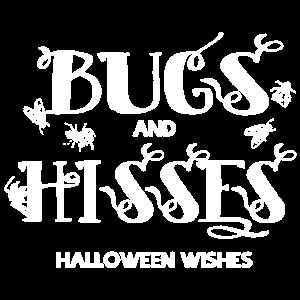 Wanzen und Tisses Halloween wünscht T-Shirt