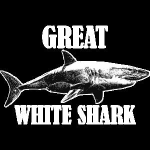 Great White Shark für Fans vom Meeresraubtier Hai