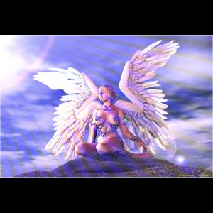 Engel mit weißen Flügeln
