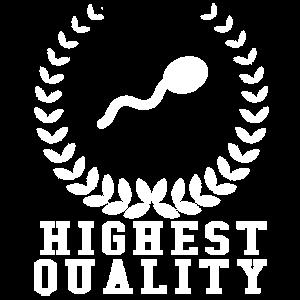 Höchste Qualität Sperma
