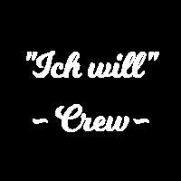 Ich will - Crew - JGA, Jungesellinnenabschied 2018