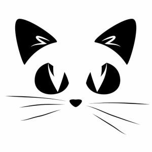 GATTO ARRABBIATO NERO 2 - ANGRY CAT BLACK 2