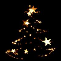 Weihnachten glow