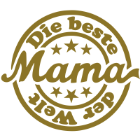 Beste Mama (Stempel)