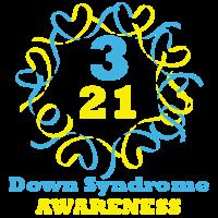Down-Syndrom-Bewusstseins-T-Shirt