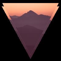 Berg Silhuette