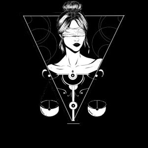 Sternzeichen Waage/Libra T-Shirt