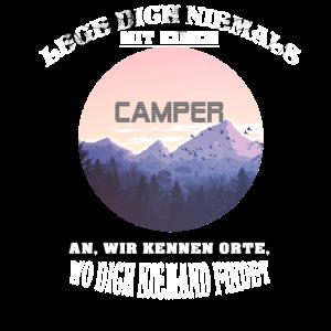 Camper Campen Geschenk Camping
