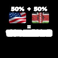 Half Kenyan Halbamerikanisch Total genial