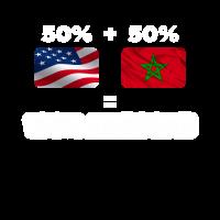 Halb marokkanisch halb amerikanisch total genial