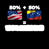 Halb venezolanischen halb amerikanischen total genial