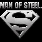Superman Man of Steel S-Shield Steel Look