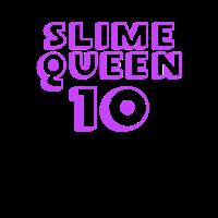 Schleim-Königin ist 10 Schleim-Königin-10. Geburtstagsfeier, Schleim-Geburtstagsfeier