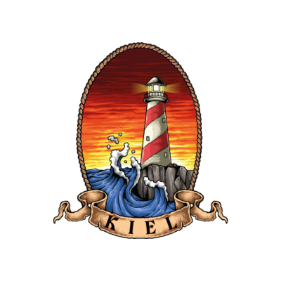 Kiel Leuchturm - Das Shirt für alle Kiel - Liebhaber und die es werden wollen . - tourist,segeln,schleswigholstein,reise,ostsee,leuchturm,küste,kunst,geschenkidee,geschenk,Norddeutschland,Maritim,Landeshauptstadt,Kieler,Kiel