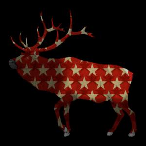 Elch Weihnachten