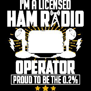 I'm A Licensed Ham Radio Operator