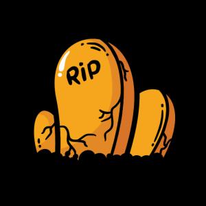 Grab Gräber Friedhof Halloween Oktober Geschenk