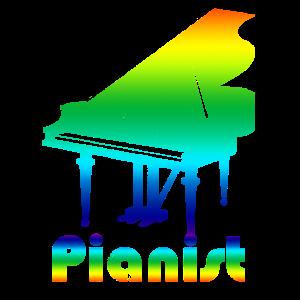 Pianist Piano Klavier Klavierspieler Geschenk