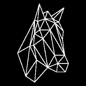 Pferd Pony geometrisch