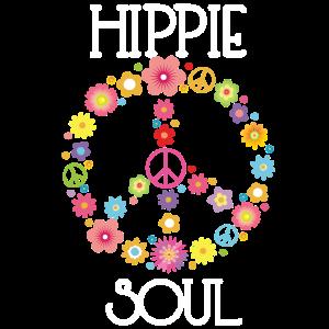 Hippie Soul, Gypsy, Flower Power, Peace, Geschenk