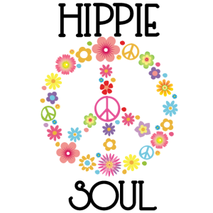 Hippie, Gypsy Soul, Flower Power, Peace Geschenk