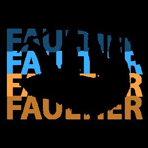Faultier Faulenzer