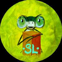 Libellen portrait rund SL