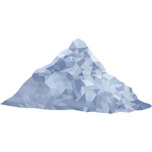 Berg low poly